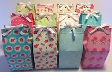 12 Vintage Individual Cupcake Box Boxes Favour With Matching Cupcake Wrappers