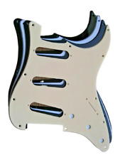 More details for fender stratocaster pickguard 1 ply strat us/mexico made 11 hole  standard
