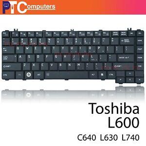 Black Keyboard Toshiba Satellite L730 L735 L600 L630 L640 Series US Outlet