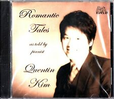 Romantic Tales As Told By Pianist Quentin Kim CD-NEW-Steinway Piano (Bach/Liszt)