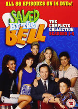 SAVED BY THE BELL COMPLETE SERIES 1-4 DVD Season 1 2 3 4 Brand New UK RELEASE R2