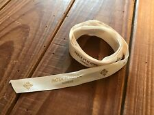 Cinta Deco PATEK PHILIPPE Cloth Strip Deco - White / Gold - For Watches
