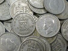 More details for 1948 george vi old lucky sixpences in bulk ideal for anniversaries any quantity