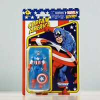 "Hasbro Marvel Legends Kenner - Captain America 3.75"" [Retro] Action Figure"