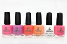 Jessica Nail Polish-Lacquer 0.5oz- Coral Symphony Collection- Choose Any Color