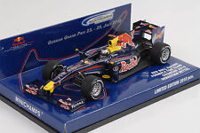 Formule 1 Red Bull Course RB5 Vieille sorcière Showcar Hockenheimring 2010 1:43