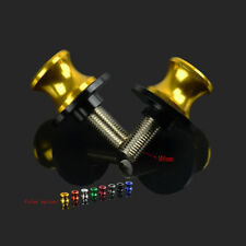 Anodized CNC Swingarm Spools 8MM Sliders For Motorcycle Street Racing Road Bike