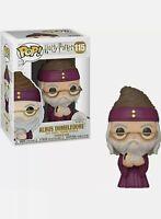FUNKO POP! HARRY POTTER ALBUS DUMBLEDORE W/ BABY HARRY  #115
