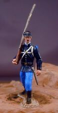 54mm Marx Civil War Federal Marching Trooper Custom  ACW Beautifully Painted!