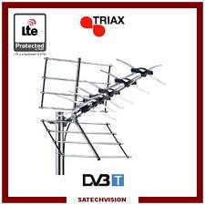 Antenne Terrestre UHF Triax UNIX 32 LTE 470 - 790 MHz C21 à C60 Gain 12,5 dB