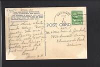 SENTINEL,ARIZONA,1949 PICTURE POSTCARD, MARICOPA CO DPO, 1880/1960.