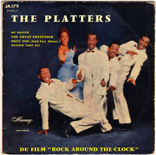 The Platters 45 Ep-14.179 (1956) Mercury The Great Pretender Only You My Prayer