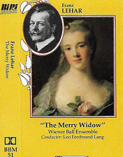 Franz Lehar The Merry Widow Weiner Ball Ensemble Lang CASSETTE ALBUM Bibi BBM51
