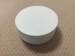 """Round polystyrene cake dummy 8"""""""
