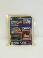 NEW BRIGHT 4.8V Rechargeable BATTERY Pack & Quick CHARGER NiCd For New Bright
