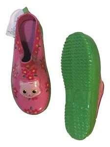 Sunny Patch Toddler & Little Girls Pink Kitty Cat Gardening Clogs Shoes