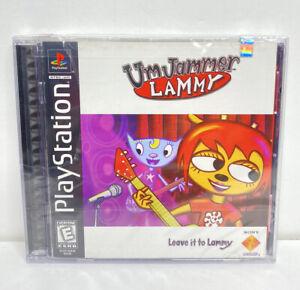 Um Jammer Lammy (Sony Playstation 1, 1999) NEW Factory Sealed Tear UmJammer