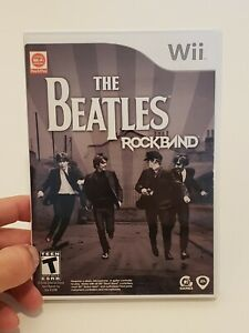 The Beatles: Rock Band Wii Game Complete Case With Manual