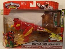 Power Ranger Dino Super Charge rouge Raptor Zord Brand New in Box-HARD TO FIND