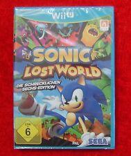 Sonic Lost World Die schrecklichen Sechs-Edition, Nintendo WiiU Spiel, Neu