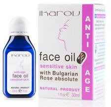 Anti Wrinkle Oil for Sensitive Skin Ikarov 30ml with Bulgarian Rose, almond,