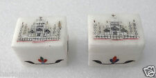 Lot 2 Designer Jewellery Box Tajmahal Marquetry Floral Inlay Gifts Ladies H802