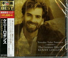 KENNY LOGGINS-THE GREATEST HITS: YESTERDAY. TONDAY. TOMORROW-JAPAN CD Ltd/Ed B63