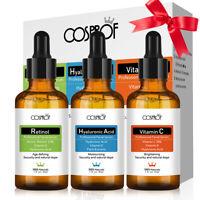 Best Anti Aging Serum Gift-Retinol Serum+VITAMIN C Serum+HA Serum With Gift Box