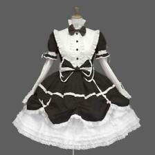 Lolita dress gothic pink daily dress show black COSPLAY clothing WOMEN'S