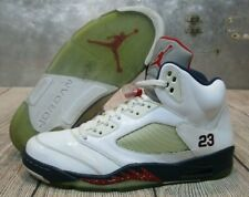 Air Jordan Retro V 5 Independence Day Olympic Basketball Shoes Sneakers size 13