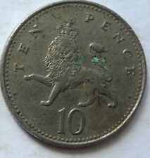Great Britain 10 Pence 1992 coin (B)
