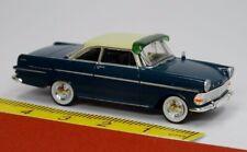 Brekina: Opel Rekord P2 Coupe blau elfenbein mit Sonnenblende - 20130