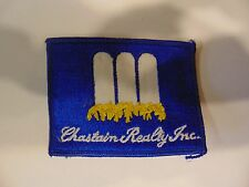 PATCH VINTAGE VERY OLD BUT NEVER SEWN 4 INCHES CHASTAIN REALTY INC