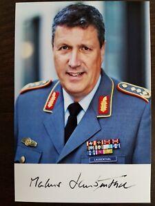 Autogramm Generalleutnant Markus Laubenthal General Heer Bundeswehr LW BW