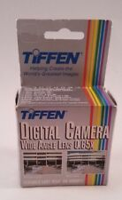 Tiffen Digital Camera Wide Angle Conversion Lens 0.65x Easy Snap On Mount