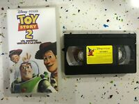 TOY STORY 2 CINTA TAPE VHS DISNEY PIXAR LOS JUGUETES VUELVEN A LA CARGA