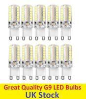 10x G9 5W LED 2835 SMD Capsule Bulb Replace Halogen Light Bulb Lamps 220V Warm W