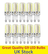 10x G9 5W LED 2835 SMD Capsule Bulb Replace Halogen Light Bulb Lamps 220V Cool W