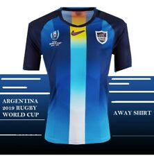 ARGENTINA 2019 RUGBY WORLD CUP AWAY SHIRT TAGS /PACKET XL