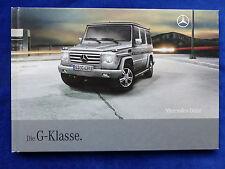 Mercedes-Benz G-Klasse - Facelift 2008 - Hardcover Prospekt Brochure 08.2008