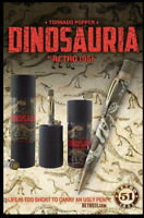 Retro 51 DINOSAURIA Tornado Popper Rollerball / Pen - Ltd Ed of 965 - RARE