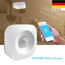 WIFI APP Smart Home PIR Bewegungsmelder Drahtlos Sicherheit Alarm Sensor DE