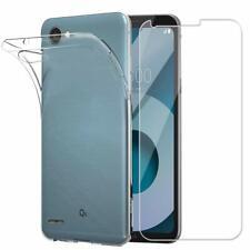 "per LG Q6 M700A / G6 MINI ( 5.5"") Custodia COVER GEL + PELLICOLA vetro TEMPERATO"