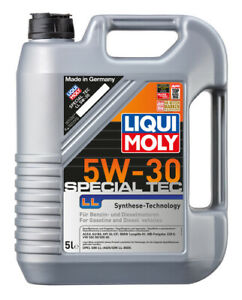 Liqui Moly Special Tec LL Synthetic Technology Engine Oil 5W-30 5L