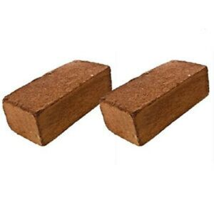 Organic Coco Coir Bricks lot 1-16 Coconut Fiber Growing Medium Potting Soil Pets