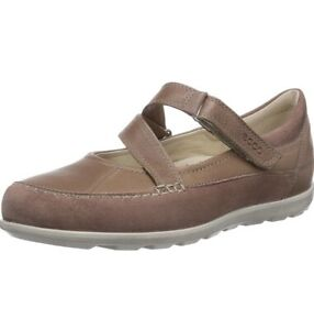 Women's Ecco Cayla Mary Brown Shoes Flats Size 39
