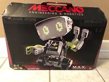 EUC Meccano Max M.A.X. Robotic Interactive Artificial Intelligence Programmable