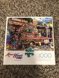 Buffalo Games Aimee Stewart Family Vacation 1000 Piece Jigsaw Puzzle