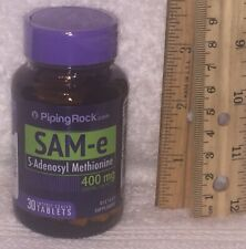 Sam-e, from Piping Rock.  30 tablets, 400 mg each