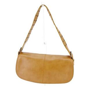 Francesco Biasia Shoulder bag Beige Black Woman Authentic Used T4557